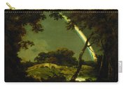 Landscape With A Rainbow Carry-all Pouch by Joseph Wright of Derby