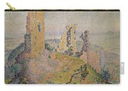 Landscape With A Ruined Castle  Carry-all Pouch