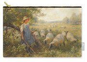 Landscape With A Shepherdess Carry-all Pouch