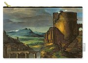 Landscape With A Tomb  Carry-all Pouch by Theodore Gericault