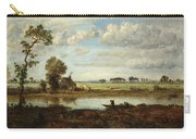 Landscape With Boatman Carry-all Pouch