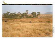 Landscape With Cows Grazing In The Field . 7d9957 Carry-all Pouch