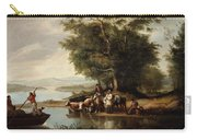 Landscape With Cows Carry-all Pouch