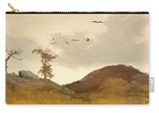 Landscape With Crows  Carry-all Pouch