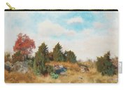 Landscape With Fox Carry-all Pouch