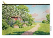 Landscape With Fruit Trees Carry-all Pouch