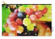 Landscape With Giant Grapes Carry-all Pouch