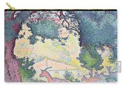 Landscape With Goats Carry-all Pouch