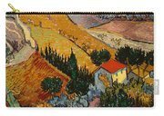 Landscape With House And Ploughman Carry-all Pouch