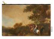 Landscape With Hunting Party Carry-all Pouch