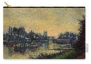 Landscape With Lock 1886 Carry-all Pouch