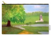 Landscape With Luxuriant Tree And Folly Carry-all Pouch