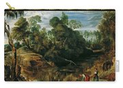 Landscape With Milkmaids And Cows Carry-all Pouch