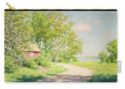 Landscape With Pickling Hens Carry-all Pouch