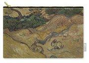 Landscape With Rabbits Saint Remy De Provence December 1889 Vincent Van Gogh 1853  1890 Carry-all Pouch