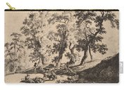 Landscape With Shepherds Carry-all Pouch