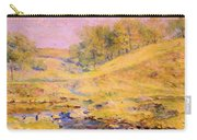 Landscape With Stream Carry-all Pouch