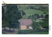 Landscape With Thatched Barn Carry-all Pouch