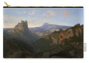 Landscape With The Castle Of Montsegur Carry-all Pouch