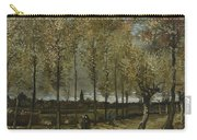 Lane With Poplars Near Nuenen Carry-all Pouch