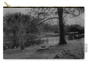 Langan Park In Black And White Carry-all Pouch
