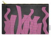 Languettes 02 - Pink Carry-all Pouch