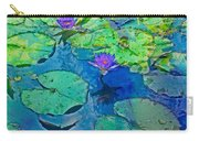 Languid Lagoon Carry-all Pouch