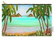 Lanikai Beach Oahu Hawaii #358 Carry-all Pouch