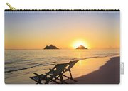 Lanikai Lounging At Sunrise Carry-all Pouch
