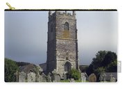 Lansallos Church Cornwall Carry-all Pouch