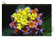 Lantana Flower Chips Carry-all Pouch