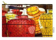 Lanterns In Market Place Carry-all Pouch