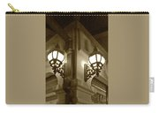 Lanterns - Night In The City - In Sepia Carry-all Pouch