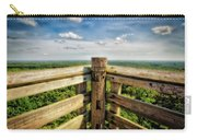Lapham Peak Wisconsin - View From Wooden Observation Tower Carry-all Pouch