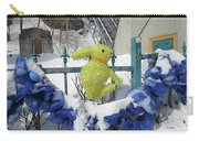 Lapin Vert / Green Bunny Carry-all Pouch