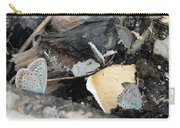 Large Blue Butterfly Carry-all Pouch