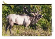 Large Bull Elk Bugling Carry-all Pouch