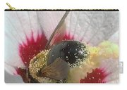 Large Bumble Bee In Flower Carry-all Pouch
