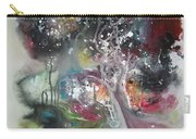Large Color Fever Abstract25-original Abstract Painting Carry-all Pouch