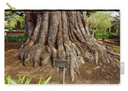 Large Cypress Tree Trunk In Carmel Mission-california  Carry-all Pouch
