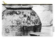 Large Flowerpot - Black And White Carry-all Pouch