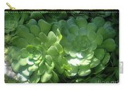 Large Green Succulent Plants Carry-all Pouch