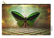Large Green Wings Carry-all Pouch