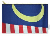 Large Malaysia Flag On Doorway Georgetown Penang Malaysia Carry-all Pouch