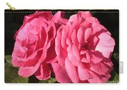 Large Pink Roses Carry-all Pouch
