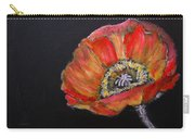 Large Poppy Carry-all Pouch