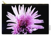 Large Purple Chrysanthemum-1 Carry-all Pouch
