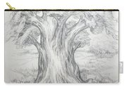 Large Shady Tree Carry-all Pouch