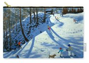 Large Snowball Zermatt Carry-all Pouch by Andrew Macara