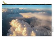 Large White Cloud From Passanger Airplace Window At Sunset Carry-all Pouch